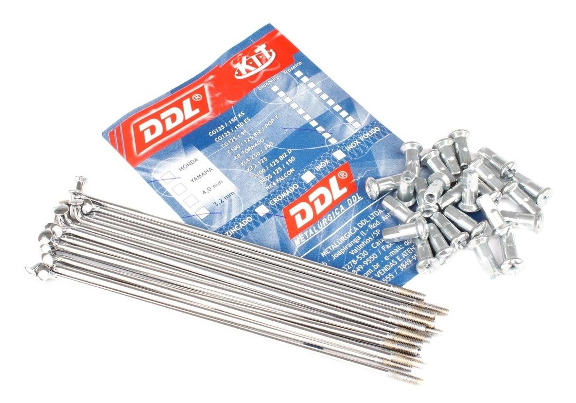 Kit de raios para roda DDL