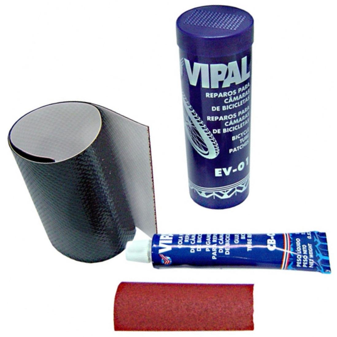Reparos para pneus e câmaras de ar Vipal